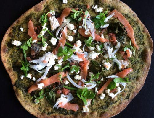 Nordisk pizza