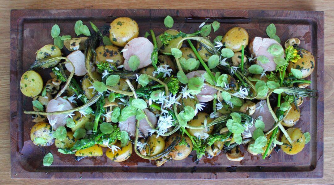 Vilde grøntsager